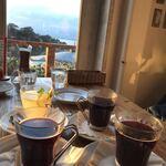 イル キャンティ カフェ 江の島 - サンセットを見ながらホットワイン