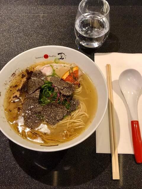 Japanese Soba Noodles 蔦 - 黒トリュフ塩SoBa2900円税込