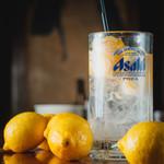 ぶっちぎり酒場 - レモンサワー