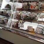 戦国サンド - 料理写真:ガラスケース