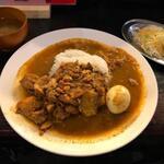 赤坂 たこ焼き居酒屋 蛸部屋 - スリランカカレー