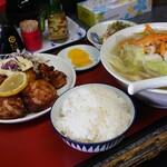 ちゃんぽん長崎屋 - 料理写真:ちゃんぽん定食