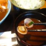 鎌倉かつ亭 あら珠 - シジミ汁