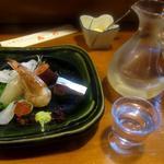 喜代 - お造り & 五橋 純米吟醸
