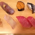 正寿司 - にぎり。