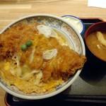 ときわ - 「かつ丼」1000円也。税込。