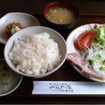 げんぱち - ローストポークとサーモンコロッケ