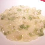 トラットリア フィオーレ - そら豆のリゾット