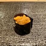 寿司 赤坂 - 塩水うに