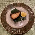 寿司 赤坂 - さわらの味噌焼き