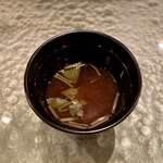 寿司 赤坂 - お椀