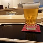 Yamamoto - ビール…まあ、美味しいしょ(笑)