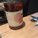121695376 - ペアリングワインのボトル