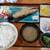 八里九里家 - 焼き魚定食(900円)です。