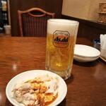 富泉楼コジーニャ - ビールとお通し