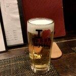 IZAKAYA 時々 - 生ビール