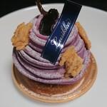 ルシカ - 料理写真:むらさき芋のモンブラン