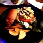 12170882 - アボカドのハンバーガー890円