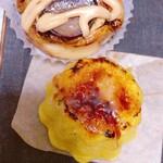 ブーランジェリー ブリュン - 栗のパンとプリンパン