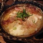 121701798 - おぼろ豆富と長芋の京風グラタン