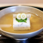 京懐石 吉泉 - 鱧真薯のお椀
