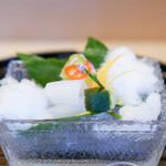 京懐石 吉泉 - 愛媛県の鯛 剣先烏賊