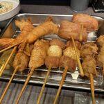 串かつ 作々 - 串カツ(各種)