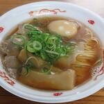 ラブメン - 【肉煮干らーめん + 味玉】¥700 + ¥100