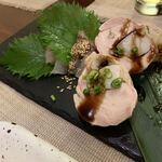 日本酒バル 蔵のや - 鶏肉の野菜巻き