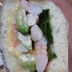 12171032 - 【アボガド&シュリンプの野菜たっぷりサウザンソース(514円)】×1