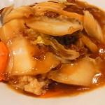 杏花村 - 牛肉角煮かけご飯