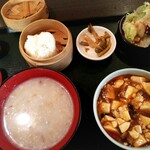 菜館Wong - 麻婆豆腐定食