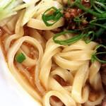 麺庵ちとせ - 汁なし担担麺