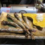 博多 寿司炉ばた 一承 - シシャモ、もう食事は終わってたんでこの日は酒の肴を中心に注文させていただきました。