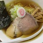 鶏料理 慶 - 鶏塩らぁ麺(800円)