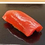 鮨おばな - 岩手県普代の鮪の赤身