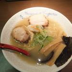 麺家いろは - 白エビ塩ラーメン780円