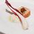 VIA Brianza - 料理写真:全粒粉パンのブルスケッタにシラス唐辛子とブッラータチーズ