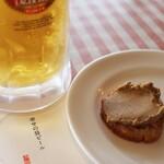 121736807 - 幸せの昼ビール レバーペースト