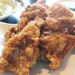 山水亭 - 鶏の唐揚げ。美味しかった