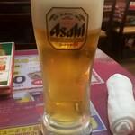インド・アジアン料理 プルナ - 生ビール