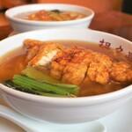 担々亭 - 料理写真:パイコータンメン