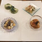 サルーテ - 料理写真:前菜盛り合わせ