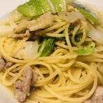 かのん - 豚肉と白菜のスパゲティ