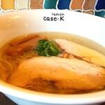 ラーメンケース ケー - 料理写真:とりのらぁめん・塩 800円