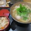 うどん和匠 - 料理写真:鶏みつば定食