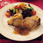 サンク・オ・ピエ - 料理写真:フォアグラと黒豚の冷製パイ包み