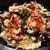 韓豚めぐり - プルゴギ石焼定食(チーズトッピング,サラダ・スープ・おかず付き)※かき混ぜ後