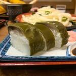 四國うどん - さば寿司