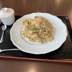 中国日隆園 - ごまガーリックチャーハン